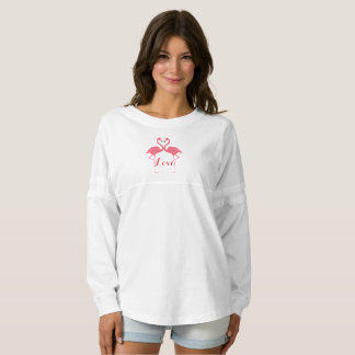 Flamingo Love Women's Spirit Jersey Shirt