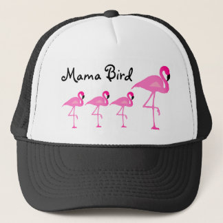 Flamingo Mama Bird Trucker Hat