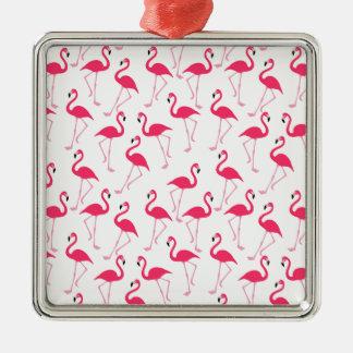 Flamingo Metal Ornament
