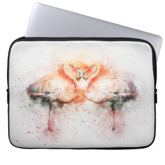 Flamingo Neoprene Laptop Sleeve 13 inch