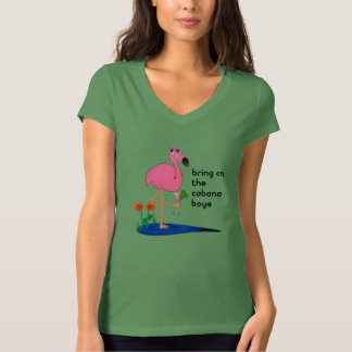 Flamingo on Vacation Shirt