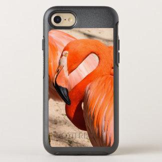 Flamingo otter box iphone 7 case