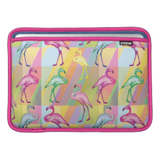 Flamingo Parade Sleeves For MacBook Air