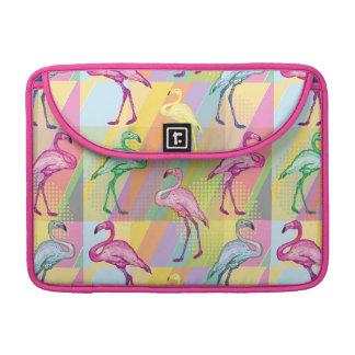 Flamingo Parade Sleeves For MacBook Pro