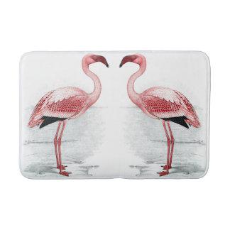 FLAMINGO PARK 2 Pink Flamingos Bath Mat