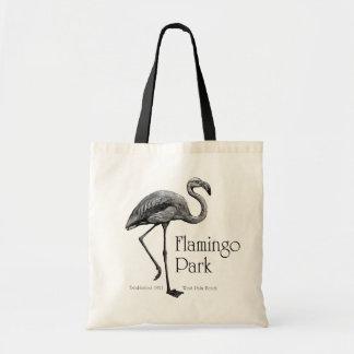 Flamingo Park tote