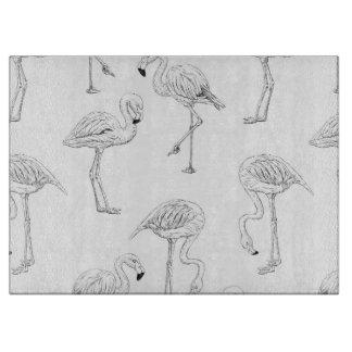 Flamingo pattern boards