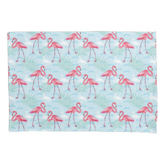 Flamingo Pattern Pillowcase