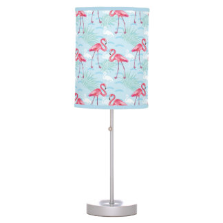 Flamingo Pattern Table Lamp