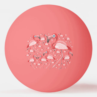 Flamingo Ping Pong Ball