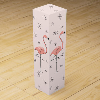 Flamingo Pink gift box wine