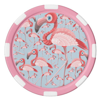 Flamingo Poker Chips