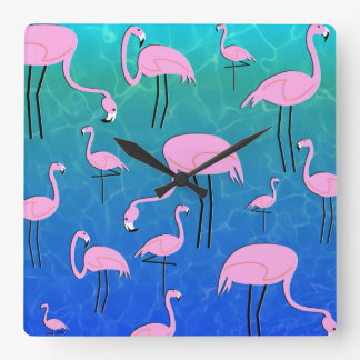 Flamingo Pond Clocks