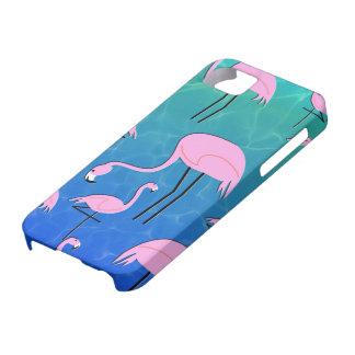 Flamingo Pond iPhone 5 Covers