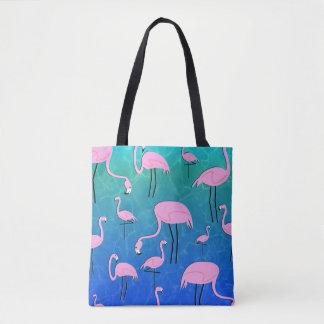 Flamingo Pond Tote Bag