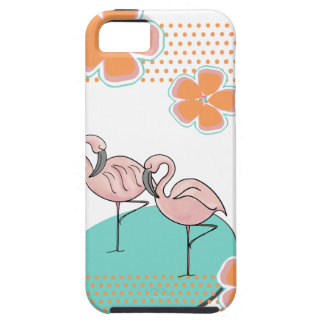 Flamingo Poolside iPhone 5 Case
