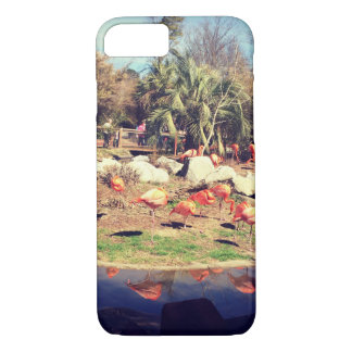 Flamingo Reflection iPhone 7 Case