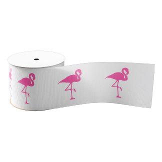 Flamingo ribbon grosgrain ribbon
