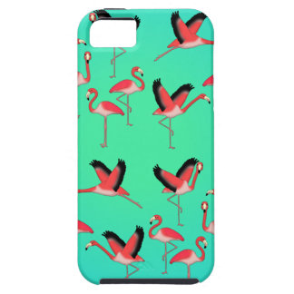 Flamingo selection z iPhone 5 cover