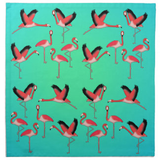 Flamingo selection z napkin