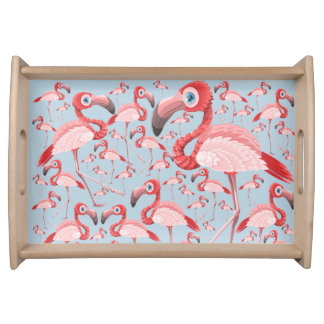 Flamingo Serving Tray