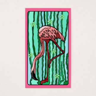 Flamingo Spanish Moss Travel Souvenir Gift Tags Business Card