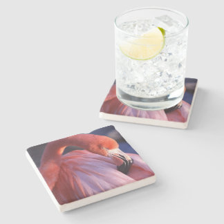Flamingo Stone Coaster