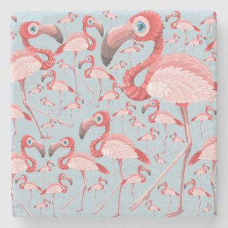 Flamingo Stone Coaster