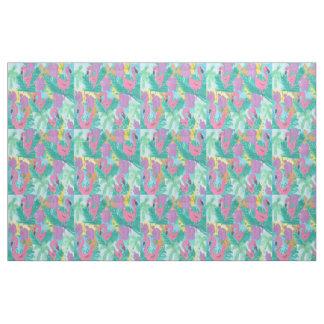 Flamingo Tropical Jungle Fabric