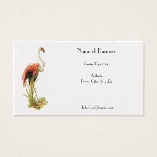Flamingo Vintage Business Card