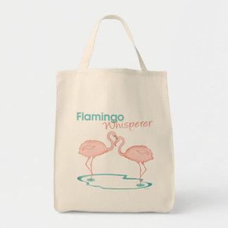Flamingo Whisperer Tote Bag