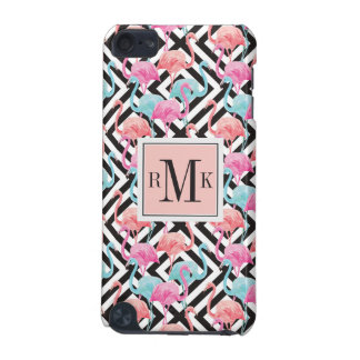 Flamingoes on Bold Design Pattern iPod Touch (5th Generation) Cover