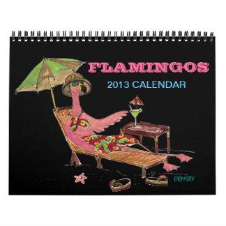 Flamingos 2013 Calendar