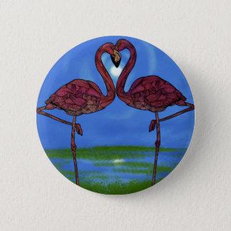 Flamingos 2 Inch Round Button