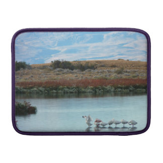 Flamingos at dusk sleeve for MacBook air