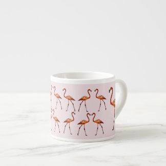 Flamingos Drawing Espresso Mug