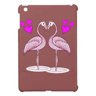Flamingos in Love Cover For The iPad Mini