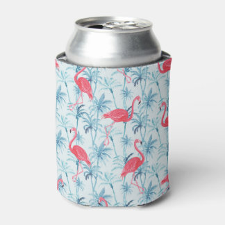 Flamingos in Paradise Can Cooler