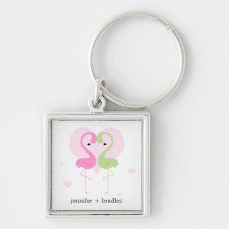 Flamingos Keychain
