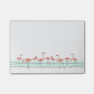 Flamingos Line Post-it Notes