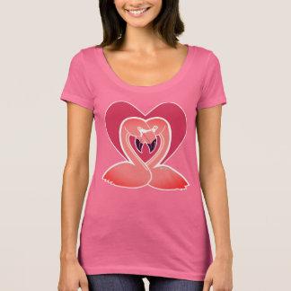 Flamingos Love Women's Scoop Neck T-Shirt