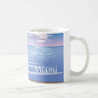 Flamingos On the Beach - Miami Coffee Mug