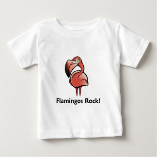 Flamingos Rock! Baby T-Shirt