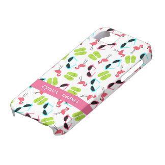 Flamingos & Sunglasses iPhone 5 Case