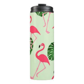 Flamingos Thermal Tumbler