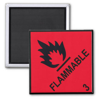 flammable magnet