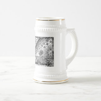 Flammarion engraving beer stein