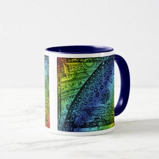 Flammarion Heaven and Earth Engraving Artwork Mug