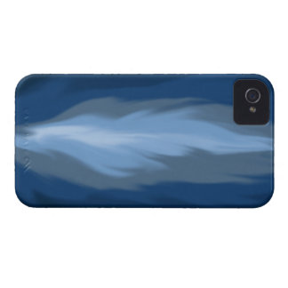 flammes bleues abstraites coques Case-Mate iPhone 4
