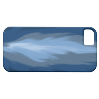 flammes bleues abstraites iPhone 5 case